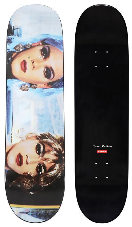 Nan Goldin, 'Supreme Nan Goldin skateboard deck', 2018, Ephemera or Merchandise, Offset print on Maple Wood, Lot 180