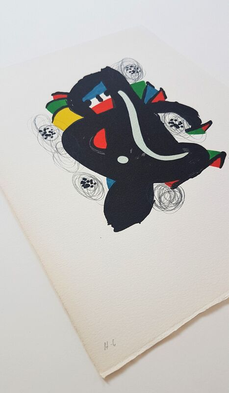 Joan Miró, 'La Mélodie Acide - 6', 1980, Print, Color lithograph, Cerbera Gallery