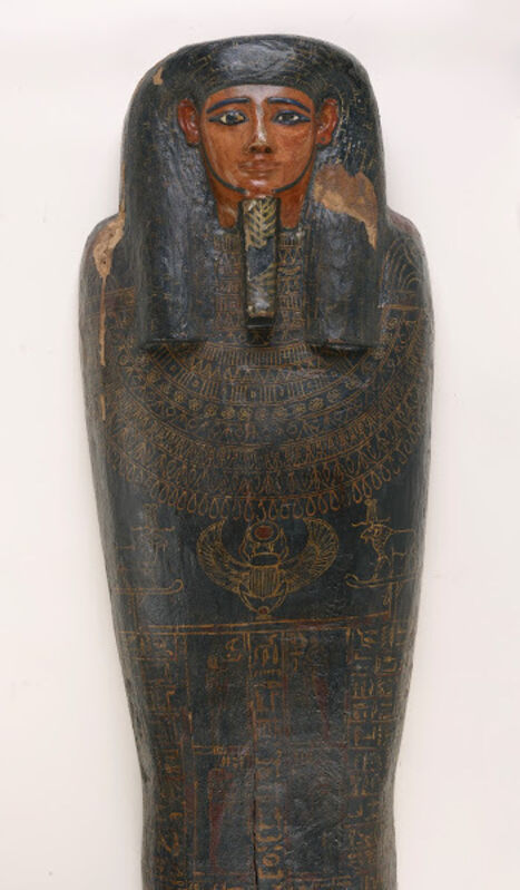 Unknown Artist, 'Coffin of Irethorrou (detail) Egyptian, Akhmim', ca. 500, Other, Wood with polychrome, Legion of Honor