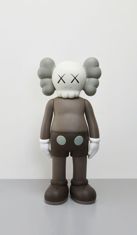 KAWS, 'Four Foot Companion (Brown)', 2007, Sculpture, Painted cast vinyl, Phillips