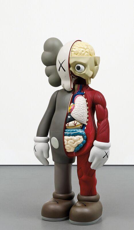KAWS, 'Four Foot Dissected Companion', 2009, Sculpture, Painted cast vinyl, Phillips