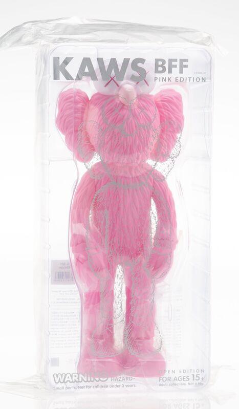 KAWS, 'BFF Companion (Pink)', 2018, Sculpture, Painted cast vinyl, Heritage Auctions