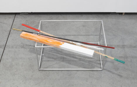 Joëlle Tuerlinckx, 'VOLUME d'AIr avec Barre rose, 'Solo & Sculpture'', 2011-2017