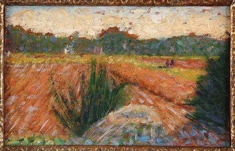 Georges Seurat, 'Champs à Barbizon (Field in Barbizon)', ca. 1882