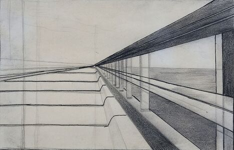 Ralston Crawford, 'Overseas Highway Sketch', 1939