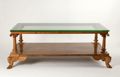 T.H. Robsjohn-Gibbings, 'Fine and rare coffee table', ca. 1928