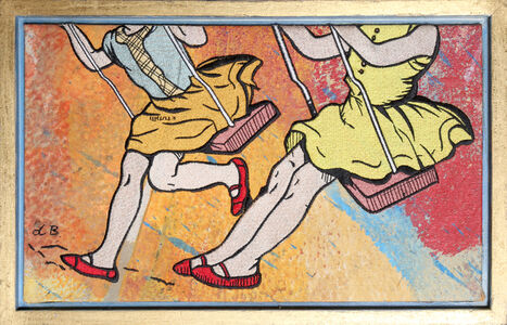 David Bromley, 'Swing Set', ca. 2010