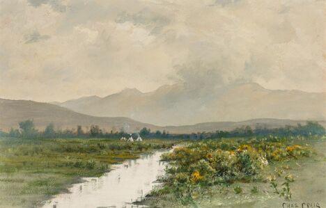 Charles Craig, 'Western Landscape'