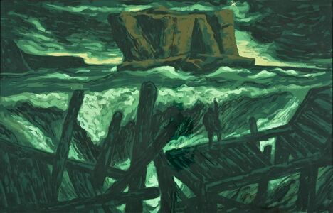 Rick Amor, 'Study for 'The Rock and the Sea'', 1990