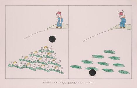 Steve Gianakos, 'Bowling for Drowning Boys', 1979