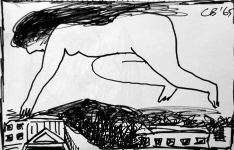 Charles Blackman, 'London Nude', 1965