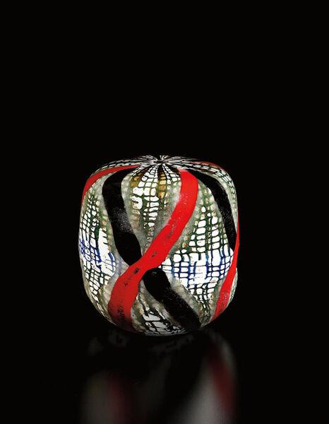 Yoichi Ohira, 'Unique closed-form vase with gold inclusions', 2002