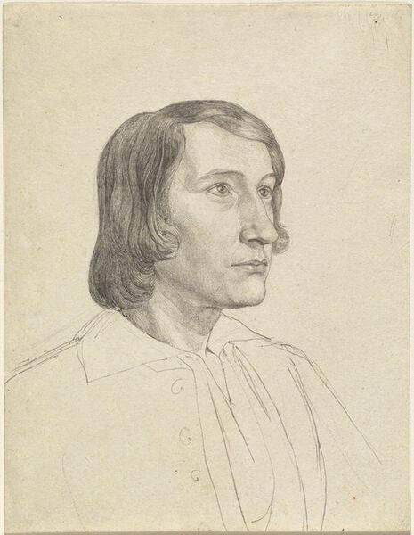 Julius Schnorr von Carolsfeld, 'Gustav Heinrich Naeke', ca. 1820
