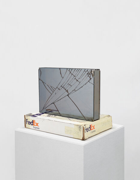 Walead Beshty, 'FedEx@Large Box, International Priority Los Angeles - New York TRK-799801787482, New York - London TRK-863164717027', 2008