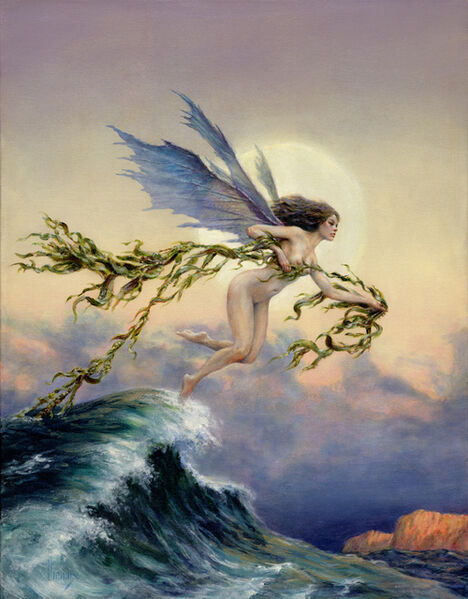 Richard Hescox, 'Spirit of the Tides', 2008