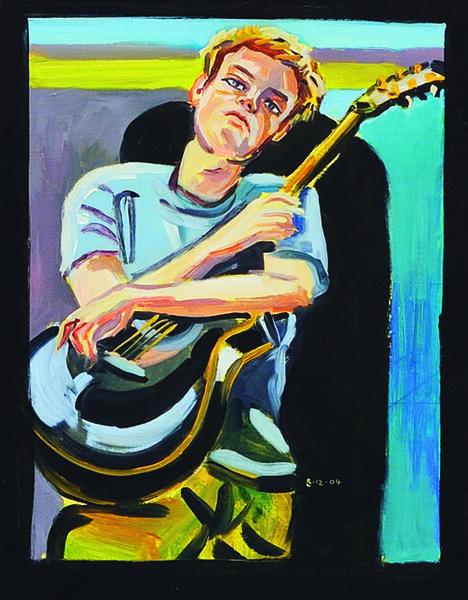 Stewart MacFarlane, 'Teen with Guitar', 2004