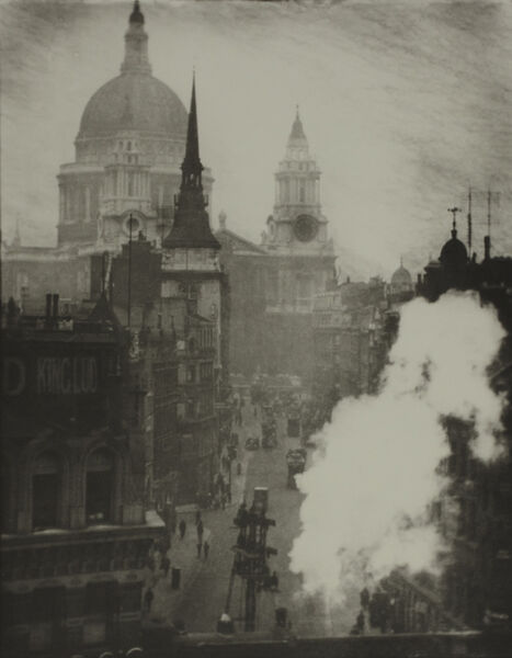 Alvin Langdon Coburn, 'St. Paul's Cathedral from Ludgate Hill, London', ca. 1905