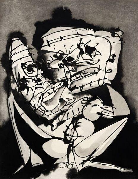 Antonio Saura, 'Untitled', 1974