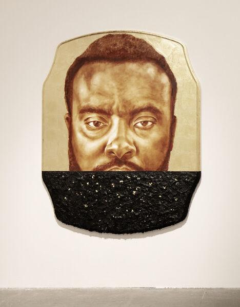 Titus Kaphar, 'State number one, Marcus Bullock', 2019