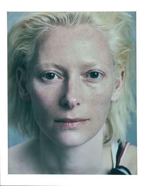 "Bettina Rheims, '""Héroïnes"" Tilda Swinton, Polaroid No 3, Juin 2005, Paris', 2005"