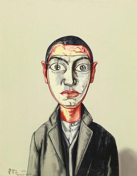 Zeng Fanzhi 曾梵志, 'Mask', 1999