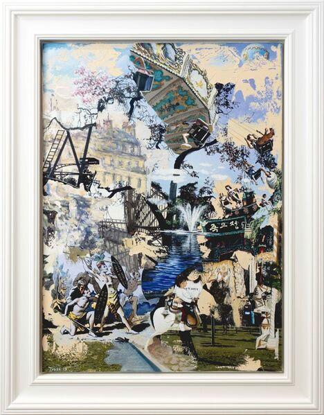Keith Tyson, '#Jardin d'acclimatation ', 2019