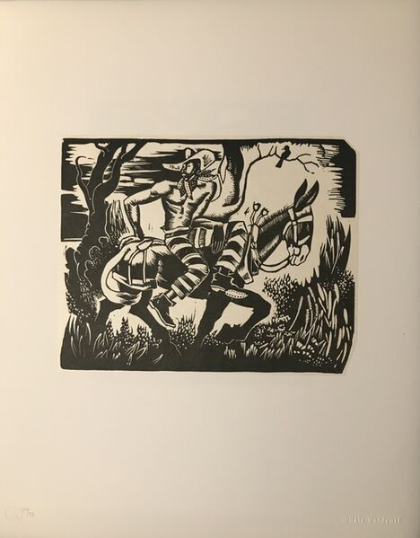 Hale Aspacio Woodruff, 'Hale Woodruff Portfolio of Eight Prints from the Atlanta Period', 1931-1946; printed 1996