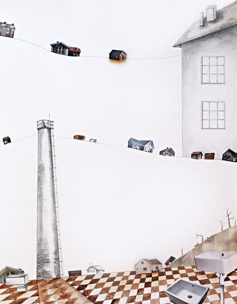 Hale Güngör Oppenheimer, ''Village X'', 2016