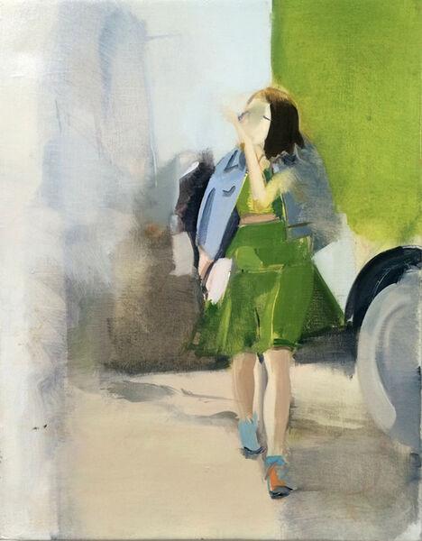 Carly Silverman, 'Green Dress', 2015