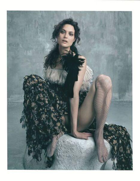 "Bettina Rheims, '""Héroïnes"" Shalom Harlow, Polaroid No 1, février 2005, Paris', 2005"