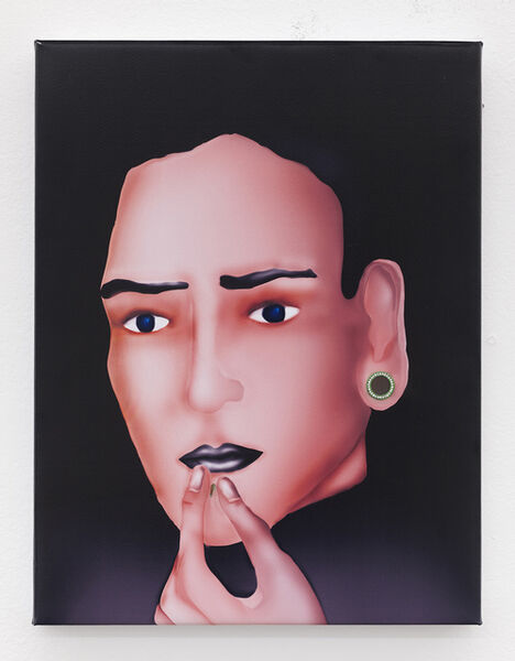Louisa Gagliardi, 'Pierced Chin and Ear', 2015