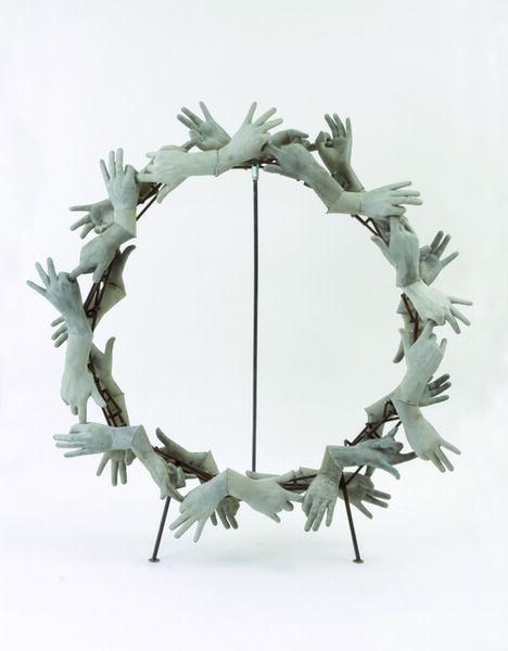 István Csákány, 'Concrete Wreath', 2013