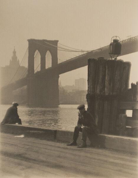 Paul Outerbridge, 'Brooklyn Bridge', 1921