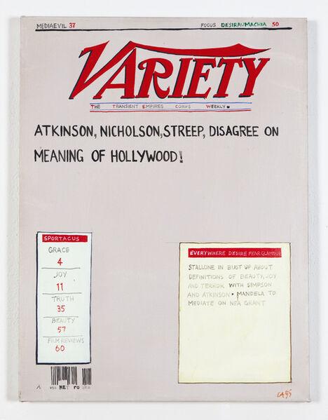 Conrad Atkinson, 'Variety: Mediaevil', 1994