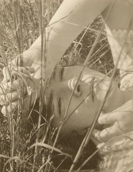 "Edward Steichen, 'Dana Steichen, ""The Blue Sky"" Long Island, New york', 1923"