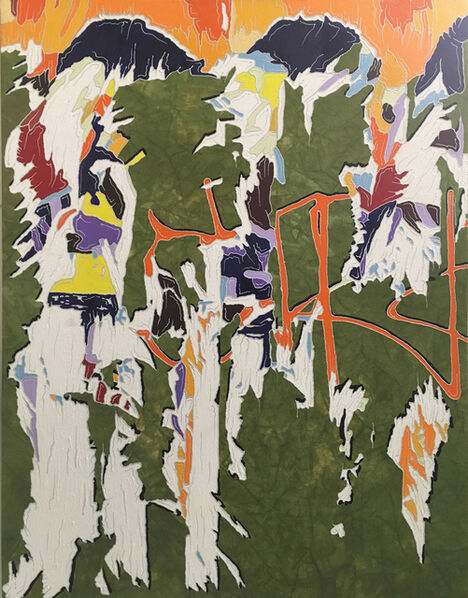 J Ivcevich, 'Untitled (Chance of Color Shred)', 2017