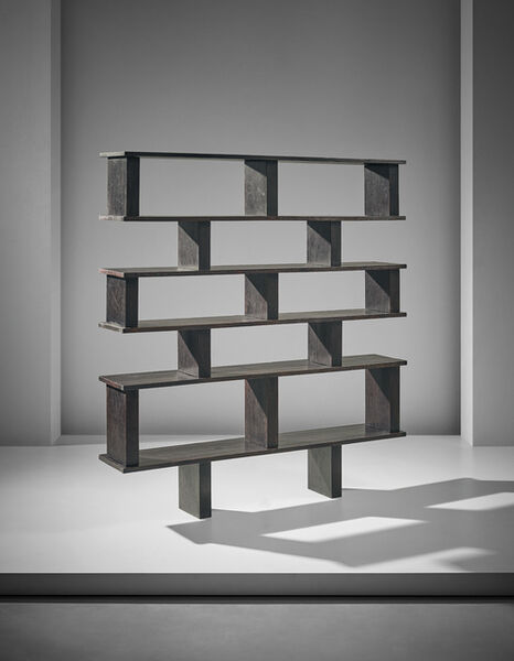 Charlotte Perriand & Pierre Jeanneret, 'Unique bookcase, designed for Henri Ingber', 1948