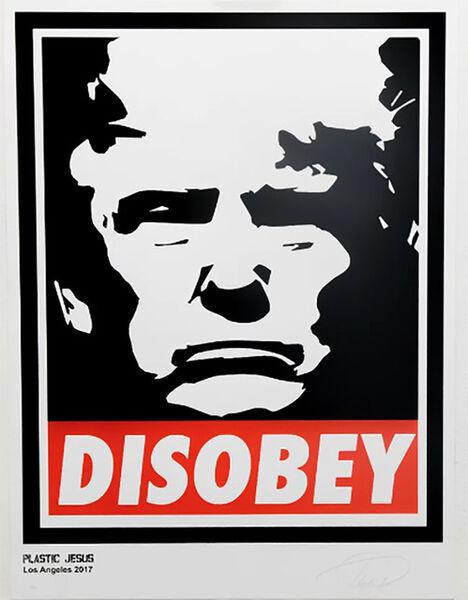 Plastic Jesus, 'Disobey', 2018