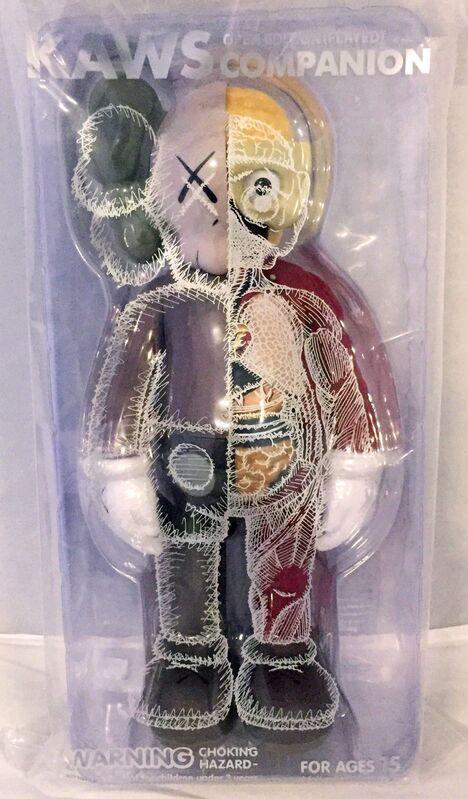 KAWS, 'KAWS Flayed Companion set 2016 (set of 3 KAWS Flayed companions)', 2016, Sculpture, Cast Resin, Painted Vinyl, Lot 180