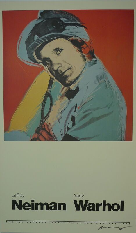 Andy Warhol, 'Willie Shoemaker', 1981, Ephemera or Merchandise, Offset on paper, Bengtsson Fine Art