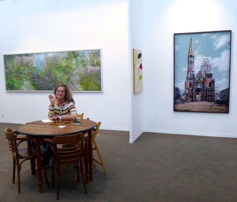 Flatland Gallery at Art Brussels 2019, installation view