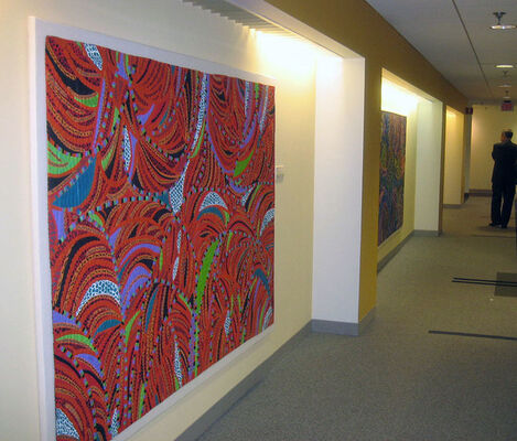 PACITA ABAD: A Passion to Paint, installation view