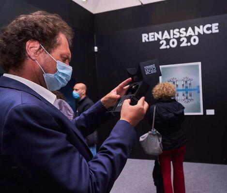 Renaissance 2.0 2.0, installation view
