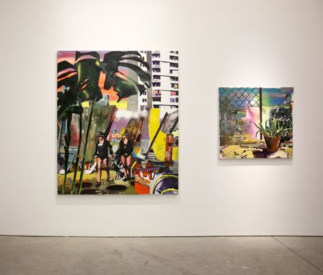 THE WANDERERS: Contemporary Painting from Cluj, installation view
