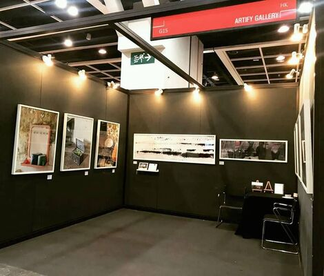 Artify Gallery at Fine Art Asia 2018, installation view