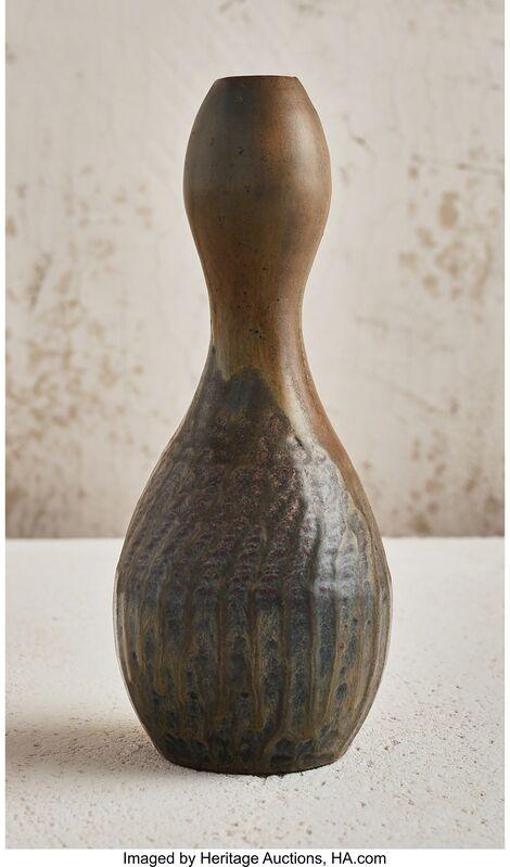 Georges Hoentschel, 'Gouble Gourd Vase', 1895, Design/Decorative Art, Glazed stoneware, Heritage Auctions