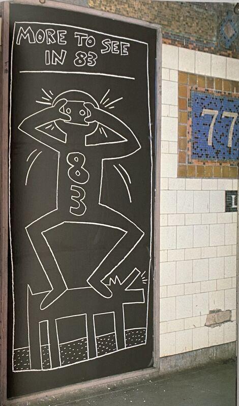Keith Haring, 'Keith Haring Tseng Kwong Chi Art In Transit book 1984', 1984, Ephemera or Merchandise, Artist monograph, Lot 180