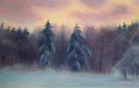 Jim Schantz, 'Stockbridge Winter Pines', 2018