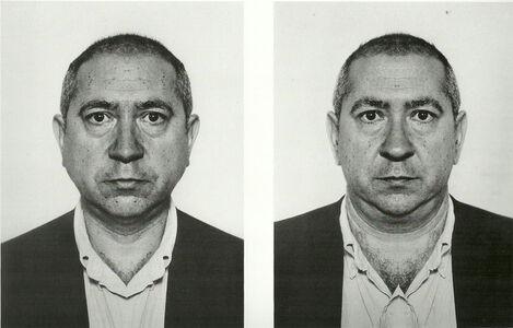 Jiří David, 'Christian Boltanski, from the series Hidden Image', 1991-1995