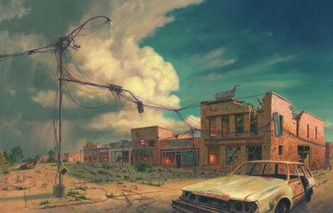 Mark Harrison, 'Main Street Apocalypse', 2019
